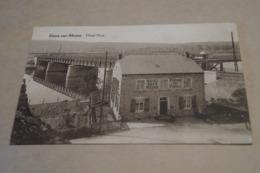 Houx Sur Meuse 1945,hotel Pirot,café Restaurant,belle Ancienne Carte Pour Collection - Yvoir