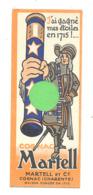 "Marque-pages Publicitaire  - Cognac "" MARTELL""   Charente  (b260/4) - Bladwijzers"
