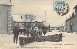39 JURA Charrue De La Chaumusse Chasse-neige à Boeufs Et Chevaux De St LAURENT Du JURA - France
