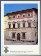 °°° Cartolina - Montepulciano Palazzo Contucci Nuova °°° - Siena