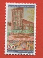 W40 Polynésie ** 2015 1107 Marché - Polynésie Française