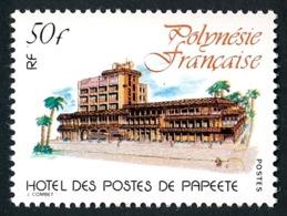 POLYNESIE 1980 - Yv. 152 **   Cote= 4,00 EUR - Hôtel Des Postes De Papeete  ..Réf.POL24479 - Neufs