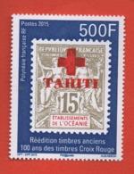 W40 Polynésie ** 2015 1094 Timbre - Polynésie Française
