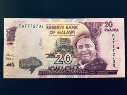 Malawi 20 Kwacha 2015 Pick 63 Ref 2703 - Malawi