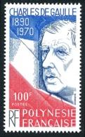 POLYNESIE 1980 - Yv. 159 **   Cote= 6,10 EUR - Général De Gaulle  ..Réf.POL24482 - Französisch-Polynesien