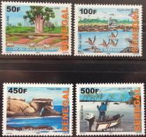 Sénégal 2009/2011 Iles Et îlots Islands Inseln Oiseaux Birds Vögel Fishing Pêche Boot Boat Bateau 4 Val. RARE MNH - Senegal (1960-...)