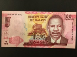 Malawi 100 Kwacha 2017 Pick 65c Ref 4497 - Malawi