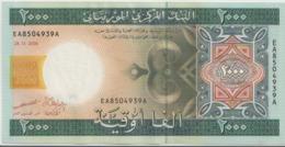 MAURITANIA P. 14a 2000 O 2004 AUNC - Mauritania