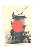 TOP - Photo ( +/- 6 X 9 Cm ) Du Kiosque D'un Sous-marin  - Armée Allemande  - U-Boot - Guerre 40/45 (b267) - Guerre, Militaire