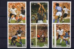 Soccer World Cup 1998 - Football - GRENADA - Set MNH - Coppa Del Mondo