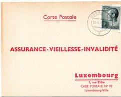 Differdange - Carte Postal Assurance - Vieillesse - Invalidité 1973 - Historische Dokumente