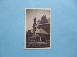 VARSOVIE - WARSZAWA  -  WARSAW  -  The Memorial To Adam Mickiewicz  -  POLOGNE - Polonia