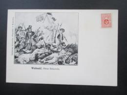Polen Um 1900 AK Wolnosc Obraz Delacroix Mit Marke Polska Partya Socalno Demokrat Ungebraucht! - ....-1919 Übergangsregierung