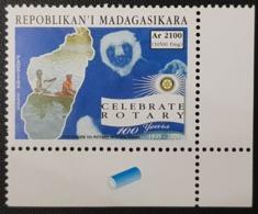 MADAGASCAR 2005 MICHEL Mi. 2627 -  CELEBRATE 100 YEARS ROTARY CLUB INTERNATIONAL APES MONKEYS LEMUR - RARE MNH - Rotary, Lions Club