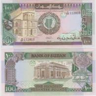 Sudan 100 Pounds 1989  Pick 44 - Sudan