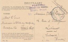 Envoi De Prisonnier De Zeist Vers Lisieux (Fr) (etit Li Coin Inférieur Droit) - WW I