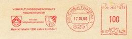 Freistempel 8798 Wappen Reichertsheim Pferd - Poststempel - Freistempel