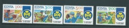 Kenya 1985 Girl Guide Anniversary Set Of 4 MNH - Kenya (1963-...)