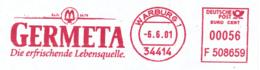 Freistempel 8871 Lebensquelle Germeta - BRD