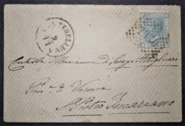 ANNULLI LOMBARDO VENETO: NUMERALE MONTEBELLUNA Treviso - 1861-78 Vittorio Emanuele II