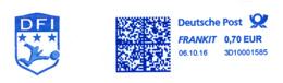 Freistempel 8910 DFI Fußball - [7] Repubblica Federale