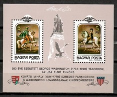 Hungary 1982 Hungría / George Washington MNH / Kc06  38-26 - George Washington