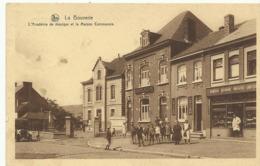 La Bouverie L'Academie De Musique Et La Maison Communie  (2617) - Frameries