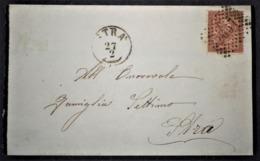 ANNULLI LOMBARDO VENETO: NUMERALE STRA' Venezia - 1861-78 Vittorio Emanuele II