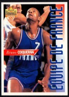PANINI OFFICIAL BASKETBALL CARDS 1995 - BRUNO COQUERAN - FRANCE - CARD N. FR 07 - Sport