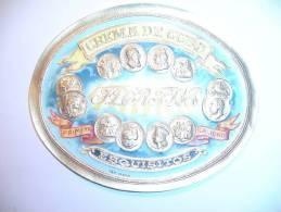 Etiquette Crema De Cuba(en Relief). - Fruits & Vegetables