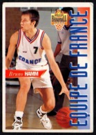 PANINI OFFICIAL BASKETBALL CARDS 1995 - BRUNO HAMM - FRANCE - CARD N. FR 11 - Sport