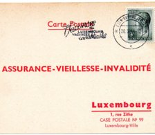 Esch-Sur-Alzette - Carte Postal Assurance - Vieillesse - Invalidité 1973 - Historische Dokumente