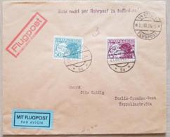 Austria Flugpost 1934 Nicht Per Rohrpost - Austria