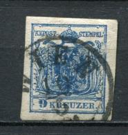 Osterreich Nr.4 Y             O  Used                (3460) - 1850-1918 Empire