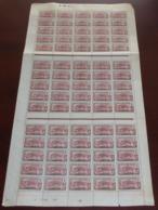 Cameroun - 1921 - N°Yv. 85 - Panthère 2c - Feuille Complète De 75 Timbres - Neuf GC ** / MNH / Postfrisch - Ungebraucht