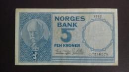 Norway 1962: 5 Kroner - Norvegia
