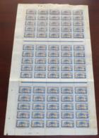 Cameroun - 1921 - N°Yv. 89 - Panthère 15c - Feuille Complète De 75 Timbres - Neuf GC ** / MNH / Postfrisch - Ungebraucht