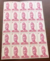 Cameroun - 1939 - N°Yv. 163 - Femme De Lamido 3c - Bloc De 25 - Neuf Luxe ** / MNH / Postfrisch - Cameroun (1915-1959)