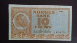 Norway 1966: 10 Kroner - Noorwegen