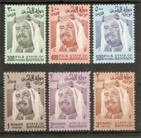 BAHRAIN 1976 SET SG 241/244b UNMOUNTED MINT - Bahrain (1965-...)