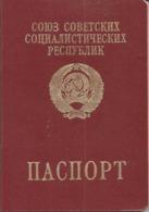 Ukraine  USSR Foreign Passport 1994 Border Stamps Israel Embassy Stamp Passeport  Reisepass Pasaporte - Documenti Storici