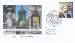 GERMANY Mi. Nr. 3211 200. Geburtstag Von Ernst Litfaß - FDC - FDC: Covers