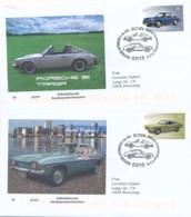 GERMANY Mi. Nr. 3213-3214 Klassische Deutsche Automobile - FDC - FDC: Enveloppes