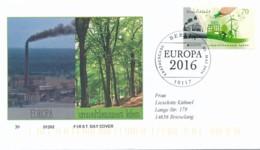 GERMANY Mi. Nr. 3238 Europa: Umweltbewusst Leben - FDC - FDC: Covers