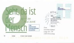 GERMANY Mi. Nr. 3239 100. Deutscher Katholikentag, Leipzig - FDC - FDC: Covers
