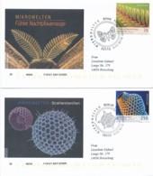 GERMANY Mi. Nr. 3246-3247 Mikrowelten - FDC - FDC: Enveloppes