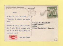 Carte Ionyl - Plasmarine - Christophe Colomb Aux Indes Occidentales - Dominicaine (République)