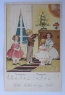 Weihnachten, Kinder, Stille Nacht, Heilige Nacht,1926, Carl Lindeberg ♥ (49825)  - Weihnachten