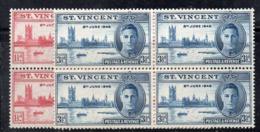 QUS - ST. VINCENT 1946, Yvert Serie Per La VITTORIA *** - St.Vincent (...-1979)