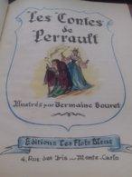 Contes De Perrault Illustrés Par GERMAINE BOURET éditions Les Flots Bleus 1951 - Books, Magazines, Comics